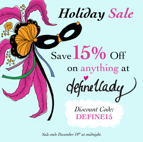 Holiday Sale at DeFine1Lady