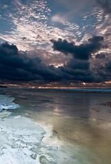 Vaal (GaidaFoto) Tags: lumi meri talv j vaal loojang maastik taevas
