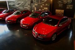 Alfa GT / Alfa 159 / Brera Rosso (v6rev) Tags: auto red rot car italia alfa romeo museo gt rood rosso storico 159 bertone machina arese