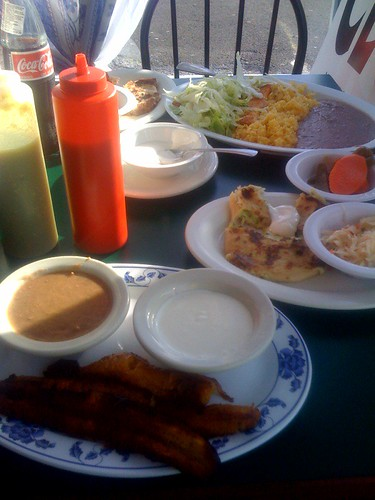 Aberdeen salvadorian food
