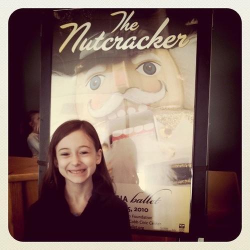 At the Nutcracker ballet
