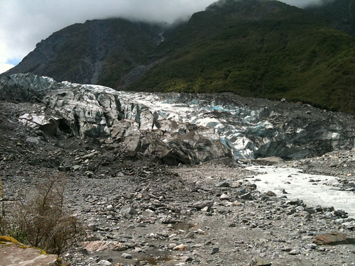 ニュージーランドに来て2度目の氷河見物