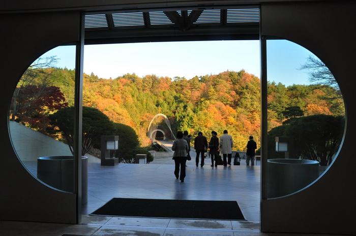 MIHO美術館楓葉情10