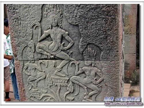 吳哥城-傳統舞蹈雕刻