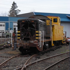 OPR 802 sits dead in the shop yard