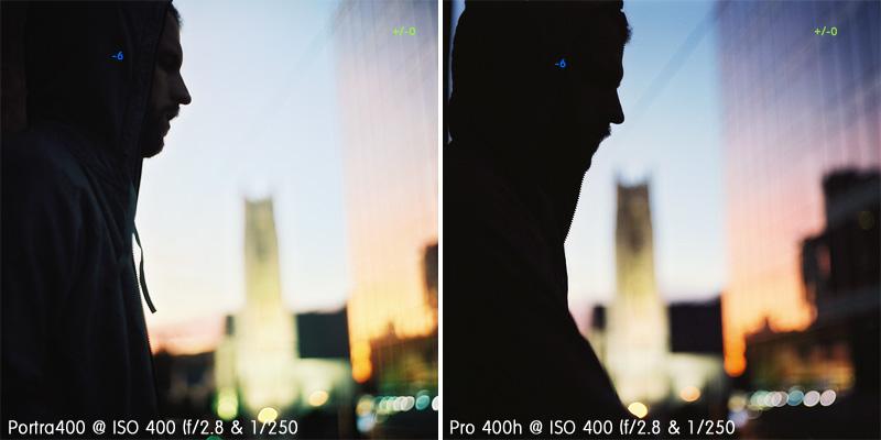 New Kodak Portra400 vs Fuji Pro 400H
