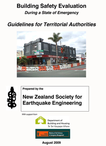 NZSEE Guidelines for Building Safety Evaluation August 09