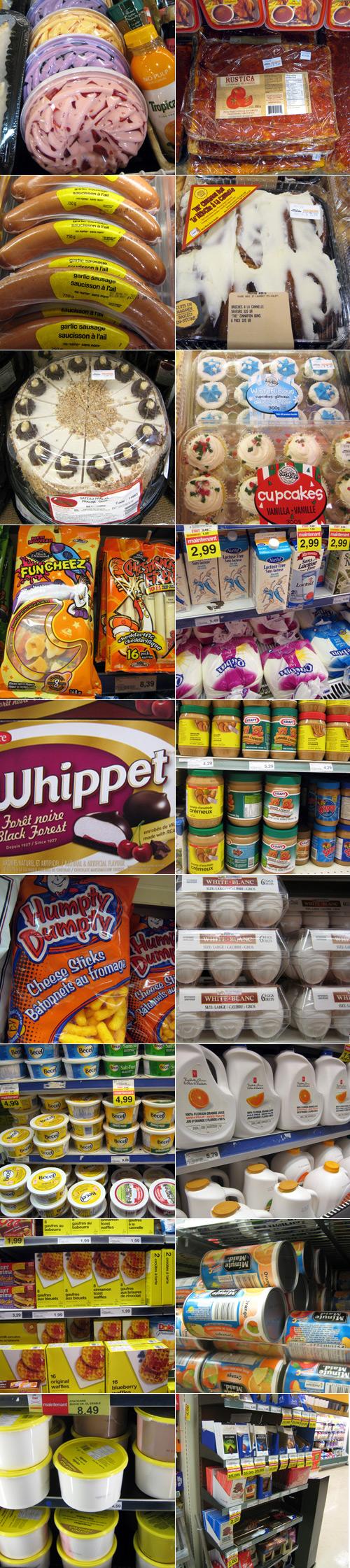 Bizarreries trouvées au supermarché