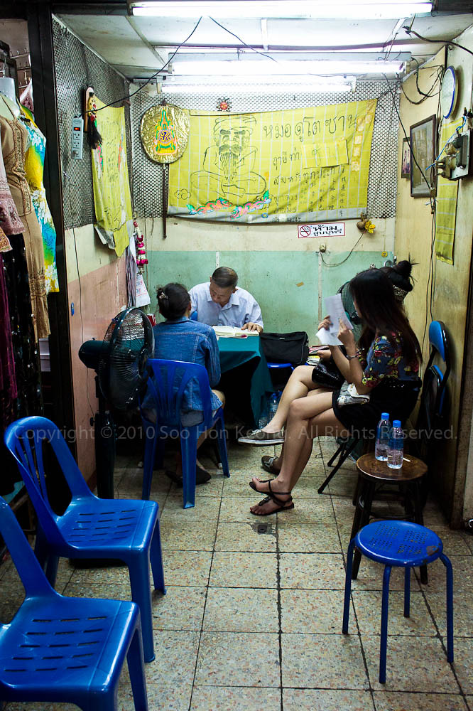 Fortune Teller @ Bangkok, Thailand