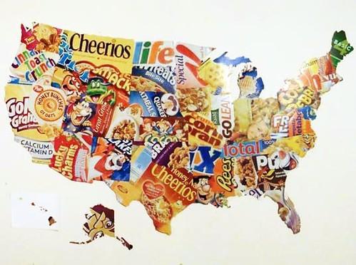 Cereal box U.S.