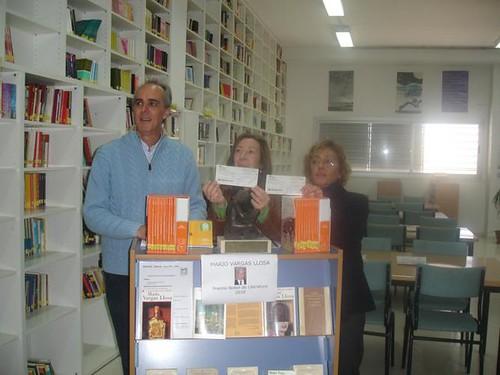 Entrega Subvención Biblioteca y Premio Certamen Literario