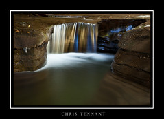 WA_D_f ([Chris Tennant]) Tags: statepark ny newyork reflection pool smooth upstate falls waterfalls canon5d ithaca gorges silky buttermilk 24105mm christennantphotography