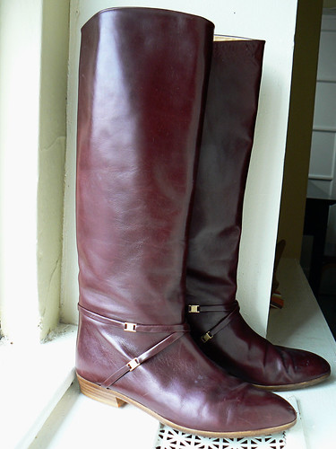 Joan and David Couture Vintage Boots