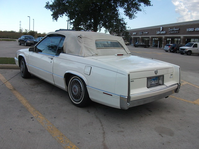white car texas conversion houston convertible cadillac deville coupe carcraft carcraftco