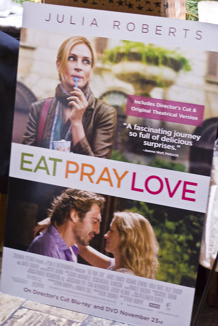 Eat Pray Love DVD & Book Giveaway Winner