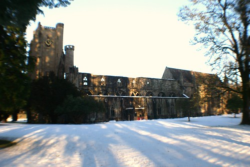 Long Shadows at Dunkeld Cathedral