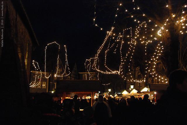 Hattingen, Christmas market, 2010