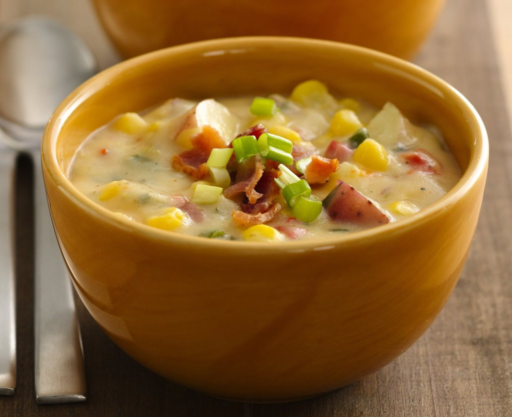 Southwest Potato-Corn Chowder Recipe