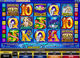 Mermaids Millions slot game online review