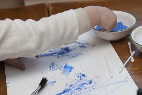 toddler art group