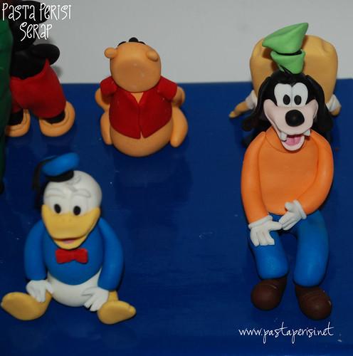 donald duck - goofy figürleri