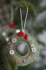 IMG_8587 (chiarabelle) Tags: christmas handmade crafts felt ornament