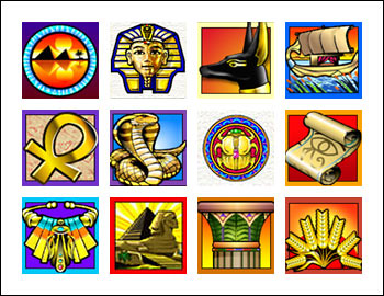 free Treasure Nile slot game symbols