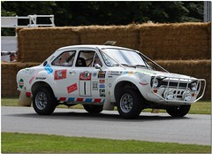 1970 Ford Escort MKI World Cup Rally Car. Goodwood Festival of Speed 2009. (Antsphoto) Tags: ford car wrc fos 2009 motorracing goodwood motorsport autosport rallycar goodwoodfestivalofspeed fordescortmk1 canoneos40d worldcuprally antsphoto londontomexico anthonyfosh