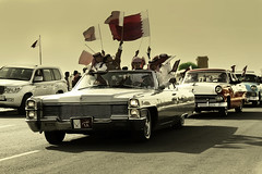 Happy National Day Qatar  (MJ ) Tags: classic canon happy eos day dec national 7d 1855mm 18 efs  doha qatar 2010  alkhor