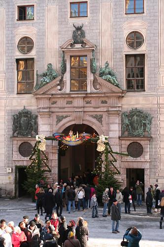 market entrance near Odeonsplatz