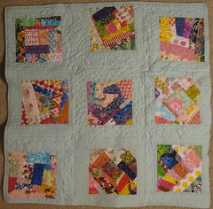 quilt as you go FINISHED (dana and thread) Tags: quilt quilting quilted foundationpieced freemotionquilting quiltasyougo qayg
