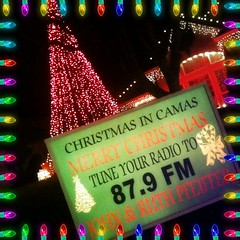 Christmas In Camas lighting show