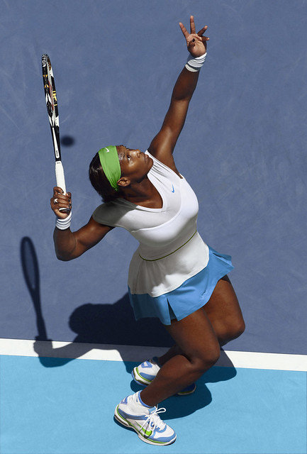 2011 Australian Open: Serena Williams Nike outfit