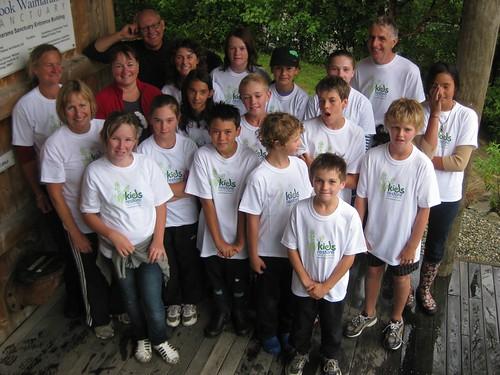 Mapua School, kids restore group