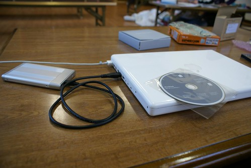 MacBookのHDD交換