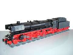 BR01-1075 old photo (Johan_vd_Heuvel (Teddy)) Tags: city train town lego engine steam locomotive moc 1075 br01 br011075