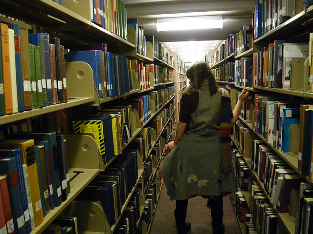 Alice in the Library at WWU