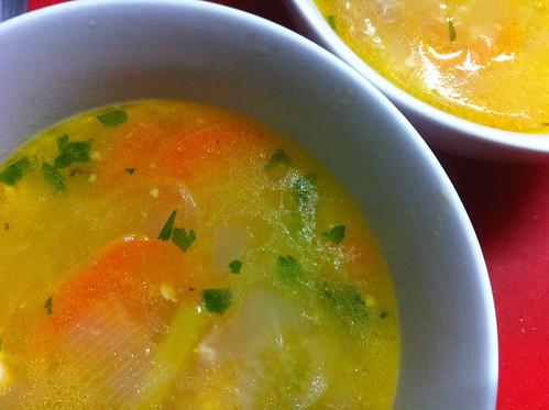 Yappari Chicken Soup