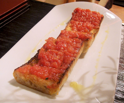 Catalan Style Bread with Tomatoes