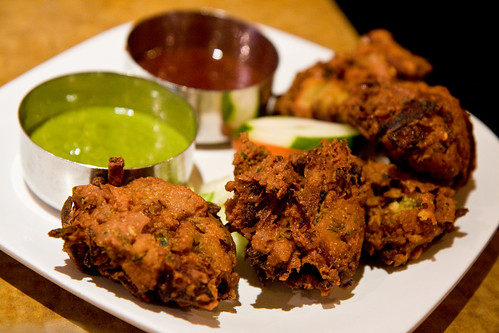 Pakoras, Tiffin Wallah