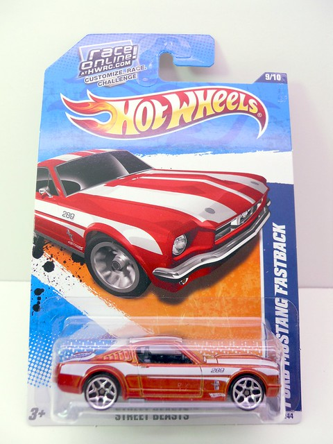 hot wheels ford mustang fastback copper (1)