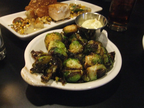 Brussels sprouts at El Arbol