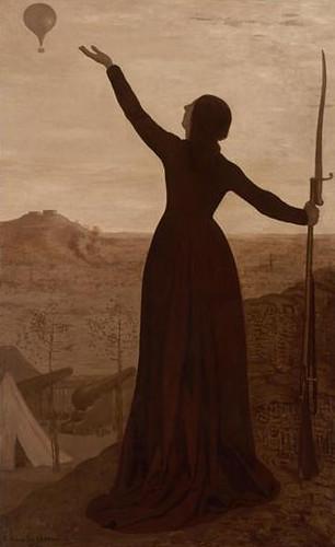 Puvis de Chavannes, The Balloon, 1870