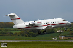N43R - 5334 - Rockwell International - Canadair CL-600-2B16 Challenger 604 - Luton - 100511 - Steven Gray - IMG_0907