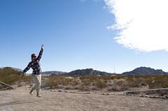 slacklining (Duy Le Photography) Tags: road park mountains rock clouds texas desert state roadtrip climbing boulders bouldering tanks slackline climbers hueco slacklining