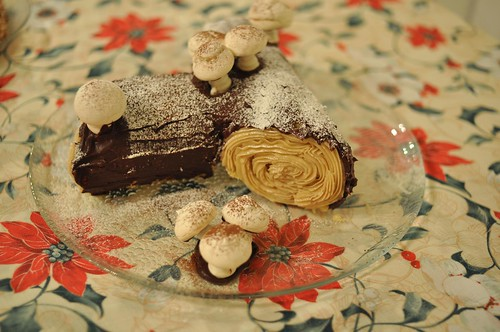 yule log, complete!