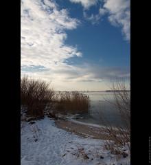 It's wintertime ( WimKok) Tags: winter sky snow holland ice water canon nederland nik lucht polarizer haringvliet hellevoetsluis lightroom ijs eos50d