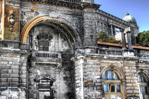 Ruins. Budapest. Ruinas