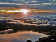 Mt Apo Sunrise (dhainel) Tags: mountain clouds sunrise canon climb mms philippines ps trail mountaineering summit davao sibulan 7107 unexplored mtapo kidapawan dhainel