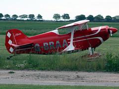G-BRAA Pitts-S-1C-Special R J Hodder 12-06-10 X4NC North Coates (PlanecrazyUK) Tags: north coates pittss1cspecial gbraa rjhodder x4nc